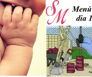 Menu Dia 1 i Dia De La Mare.